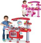 TODDLER KIDS PRETEND KITCHEN PLAYSET ROLE PLAY FOOD COOKER PANS TOY XMAS GIFT