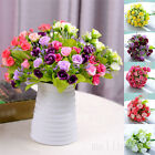 21 Flower Head Artificial Rose Silk Flowers Floral Wedding Garden Home Decor