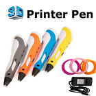 3D Printing Doodle Drawing Pen Crafting Modeling ABS Filament Arts Printer US