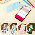"""New TPU Transparent Flower Back Case Cover For Iphone 6 4.7""""/Plus"""