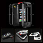 Waterproof Shockproof Aluminum Gorilla Glass Metal Case Cover For Apple iPhone