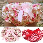 Lovely Baby Girl Toddlers Ruffle PP Pants Bloomers Nappy Cover Pantskirt Pants