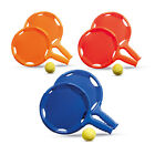 Beach Elastic Bat and Ball Set Plastic - Garden Games Summer Holiday Racket BN