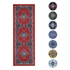 "Traditional Oriental Medallion Rug 2x7 Persian Style Runner -Actual 1'10""x7'3"""