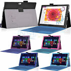 PU Leather Folio Stand Case Cover for Microsoft Surface 3 10.8 Inch Win 10 Tab