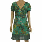 Ladies John Rocha @ Debenhams Floral Printed Summer Sun Cotton Dress Size UK 8