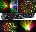 Green+Red+Purple+Yellow 4Heads 4 Colors Laser Light Show system DJ lighting
