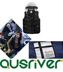 Men's Gilet Vest With Hat Winter Wear Fitted Coat Brand New 2015 Winter Fashion