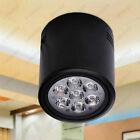 7W LED Ceiling Down Light Fixture Surface Mount Spot Lamp Canteen Study Porch