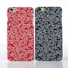 """New Frosted Letter PC Back Case Cover For iPhone 6 4.7""""/Plus"""