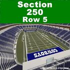 2 TIX 9/13 Green Bay Packers at Chicago Bears Soldier Field