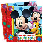 Disney Mickey Mouse Boys Girls Birthday Party Napkins 16, 32 & More!