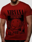 NIRVANA Motor Sports Int'l Garage Artwork OFFICIAL Cotton T-SHIRT Kurt Cobain