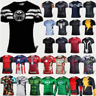 Latest Men Superhero Stretch T-shirts Base Layers Sports Tee Tops Jersey Cycling