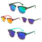 Clubmaster Sunglasses Two Tone Retro Various Color Lens IG9882-RVmulti