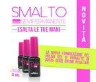 Gel polish 8 ml  smalti semipermanenti colorati ricostruzione unghie soak off