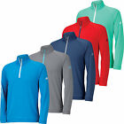 Adidas Golf ClimaCool 3 Stripes Half Zip Pullover 2015 Mens NWT Clearance Price!