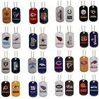 NFL DOG TAG NECKLACE CHOOSE YOUR TEAMS OFFICIAL LICENSED FOOTBALL Pet PACK