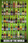 Beers Of The World Poster 61x91.5cm