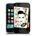OFFICIAL ONE DIRECTION 1D FANPHERNALIA HARD BACK CASE FOR APPLE iPHONE 3GS