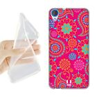 HEAD CASE PSYCHEDELIC PAISLEY SOFT GEL CASE FOR HTC DESIRE 820