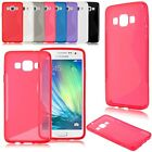 Fashion Soft S line TPU Silicone Gel Back Cover Case Skin For Samsung Glaxy A3