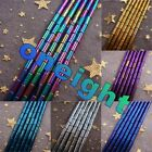 Hot!! Charming Gold Silver Colorful Violet Blue Purple Hematite Tube Loose Beads
