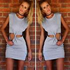 Women Summer Casual Sleeveless Party Evening Cocktail Mini Dress Beach Dresses