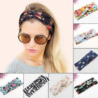 Fashion Women Bohemian Hair Band Turban Headband Twisted Knotted Yoga Head Wrap