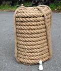 Natural Jute Rope 36mm Hand made Rope Decking Garden Boating 3m to 50m