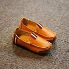 New boy children Genuine Leather kids Slip On Flats Casual Shoes