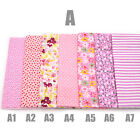 76 Colours Pre-Cut Cotton Fabric 45x50cm Charm Assorted Quilt Series Sewing New