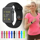 Kyпить Replacement Silicone Wrist Bracelet Sport Band Strap For Apple Watch 38mm/42mm на еВаy.соm