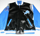Detroit Lions Faux Leather Jacket Men's size Large or XL, New w/Tag!