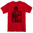 T-Rex Lounging Licensed Adult T Shirt