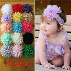 Amazing Chiffon Flower for DIY Baby Girl Hairband Headband Hair Accessory New