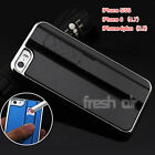 New USB Rechargeable Cool Cigarette Lighter Case Cover for iPhone 5/5S/6/6plus