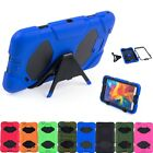 """Hybrid Stand Case Rigid Shockproof Cover for Samsung Galaxy Tab 4 8.0"""" T330 T337"""