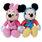 Disney Mickey / Minnie Mouse Clubhouse In Dressing Gown Soft Plush Cuddly Toy