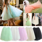 Not Women Princess Fairy Style 5 Layer Tulle Bouffant Dress Tutu Skirt Petticoat