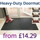 Heavy Duty Commercial Entrance Door Mat Ribbed Slip Resistant Non-Stain Matting