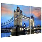 Unframed HD Canvas Print Wall Art Painting London Bridge Wall Picture Home Decor
