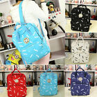 New Classic Ladies Girls Canvas Backpack Rucksack School bag College Book Bag