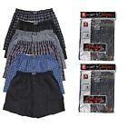Внешний вид - New 6 pc Knocker Mens Plaid  Boxer Short Trunk Underwear Lot Cotton Size S-3X