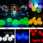 3'' Mood Steady On & Flickering Light LED Floating Ball Fr Pool & Party 6 Color