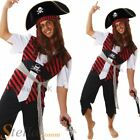 Mens Pirate Costume Caribbean Sailor Fancy Dress Jack Sparrow Adult Outfit