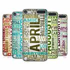 HEAD CASE DESIGNS BIRTH MONTH PERSONALITIES CASE FOR APPLE iPOD TOUCH 6G 6TH GEN