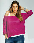 Pullover sheego Style Cotton made in Africa. Beere. NEU!!! KP 49,99 € SALE %%%