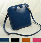 Vintage Women Leather Messenger bags Crossbody Crossbody Shoulder Handbags Tote