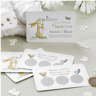 Guess How Much I Love You Baby Shower Christening Party Scratch & Match Game